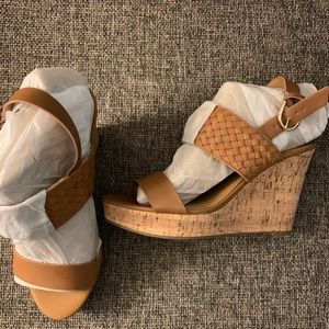 Tommy Hilfiger cork wedges